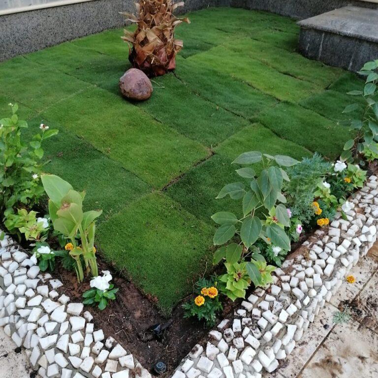 تنسيق حدائق أحواض الزرع بالطائف